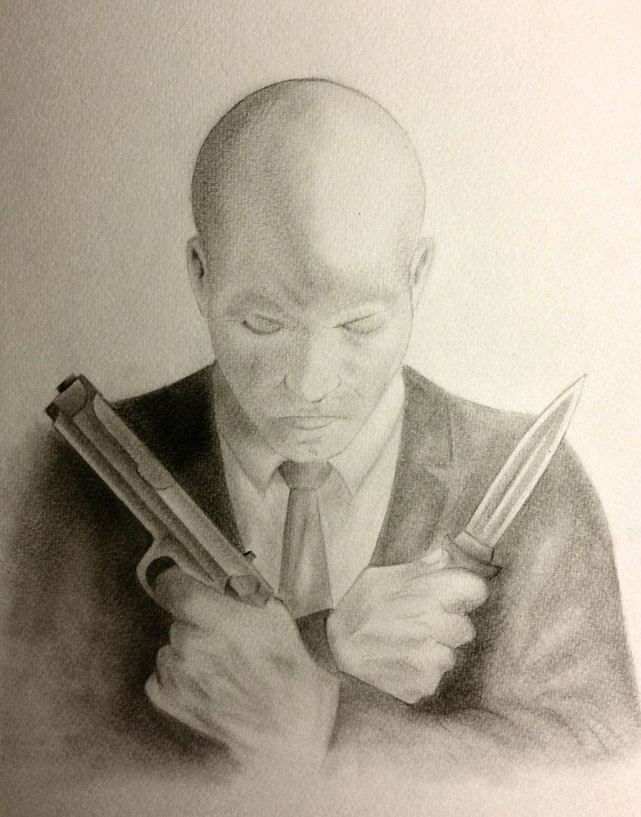 Agent 47 Self Portrait